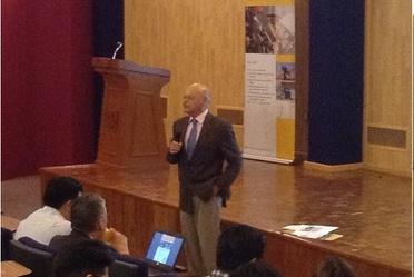 Bienvenida por el Dr. Lizardi, Director General del Centro Nacional de Metrología