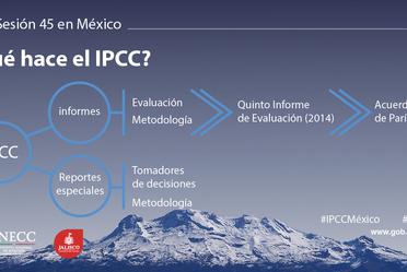 Campaña de postales para el IPCC México.