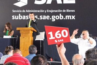 Cuarta Subasta Presencial en 2017, en la ciudad de León, Guanajuato.