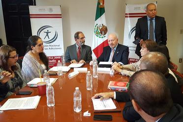 Firman Azcapotzalco y Conadic convenio para la lucha contra las adicciones
