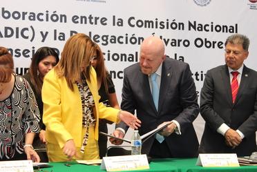 Conadic fortalece acciones preventivas contra las adicciones en la Delegación Álvaro Obregón