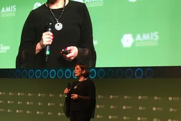 Participación de la Mtra. Norma Alicia Rosas durante la 27 Convención de Aseguradores de AMIS
