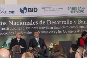 """El Director General de Banobras, Alfredo Vara Alonso, inauguró el Foro """"Bancos Nacionales de Desarrollo y Bancos Verdes"""""""