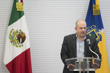 El Director General de Banobras, Alfredo Vara, inauguró el Taller de Capacitación a Funcionarios Municipales de Jalisco