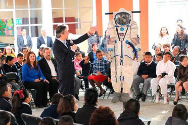 Los nuevos enfoques a la educación en México, como el espacial, permite que las niñas y niños estén listos para competir en esta nueva sociedad de la era digital: Mendieta Jiménez