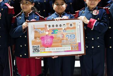 Billete de Lotería conmemorativo de los 20 años del actual Sistema de Pensiones