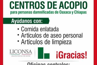 Liconsa cuenta con Centros de Acopio