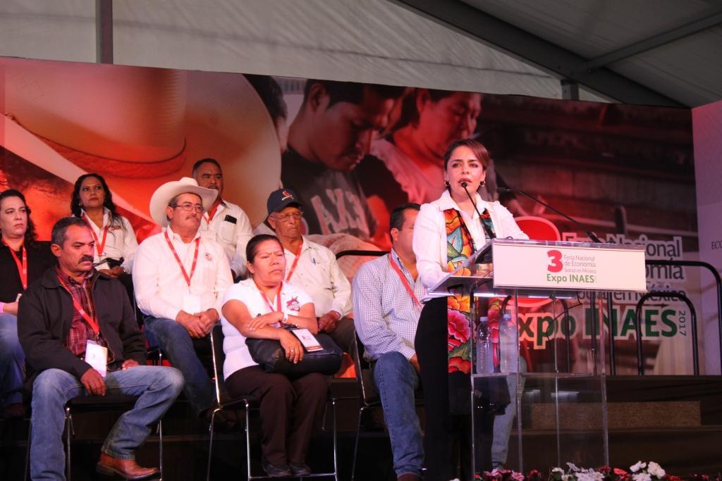3a Feria Nacional de Economía Social, Expo INAES 2017.
