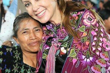 Entrega de apoyos San Cristobal de las Casa, Chiapas