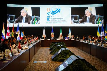 Reunión de Ministros y Altas Autoridades de Competitividad de las Américas en la RIAC 2017