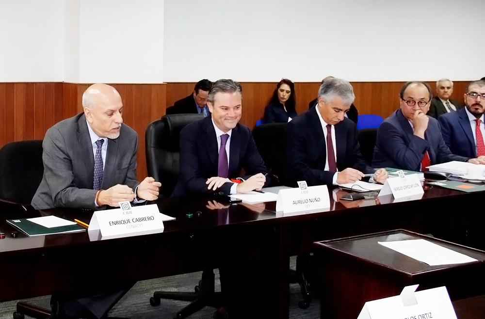 Sesiones órganos de Gobierno CIDE - SEP