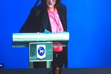 """La presidenta de la CNSF participó activamente mediante la moderación del panel """"Más allá de los enfoques tradicionales: Promoviendo la educación Financiera de los Consumidores""""."""