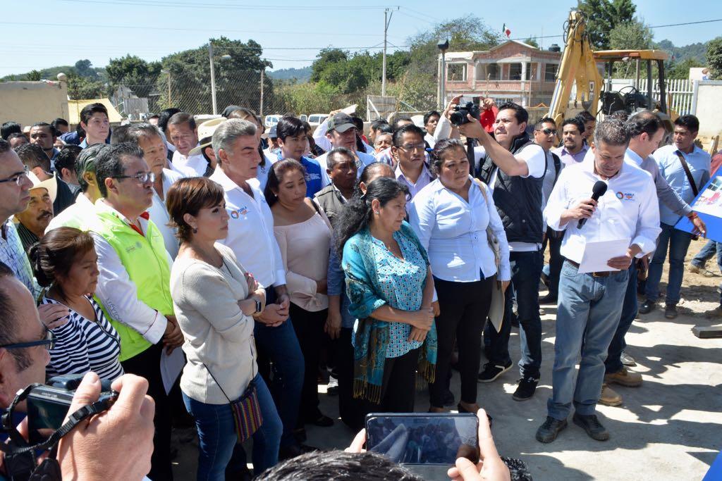 Aspecto del recorrido por San Antonio Alpanocan Tochimilco, Puebla