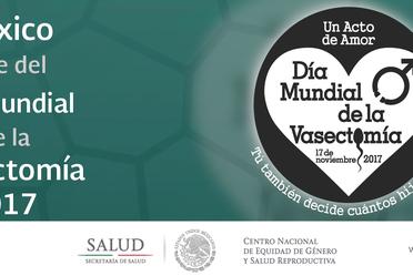 México Sede del Día Mundial de la Vasectomía