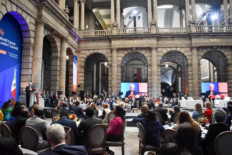 Cumbre Mundial de Líderes Contra el Cáncer.