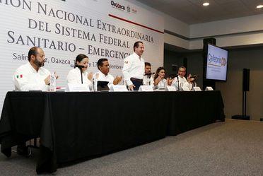 Día 1 Reunión Nacional Extraordinaria del Sistema Federal Sanitario