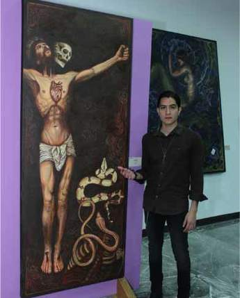 """Inauguración de exposición """"Misticismo Pictórico"""" de Dan Santino"""