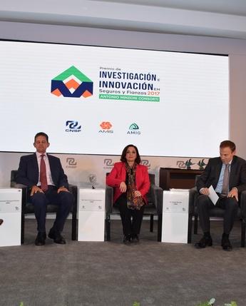 """Premio de Investigación e Innovación en Seguros y Fianzas 2017 """"Antonio Minzoni Consorti"""""""