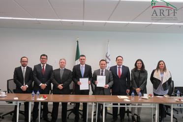 La CRE y la ARTF firman un Convenio Marco de Colaboración para intercambio de información y capacitación
