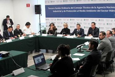 Tercera Sesión Ordinaria  del Consejo Técnico de la ASEA