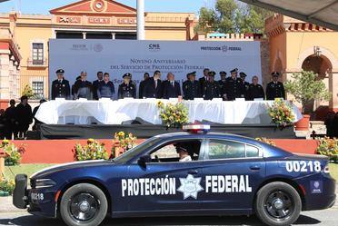 9° Aniversario del Servicio de Protección Federal