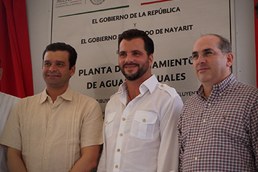 Entrega de la Planta de Tratamiento de Aguas Residuales (PTAR) Bahía de Banderas.
