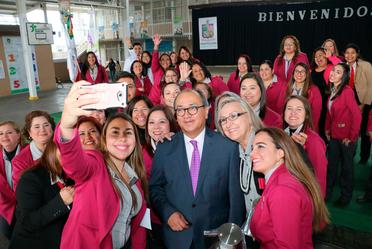 Gira de trabajo por el estado de Nuevo León