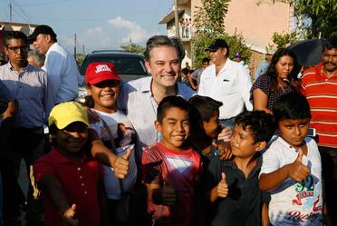 Recorrido en zonas afectadas de Paredón, Chiapas