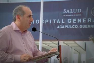 El Director General de la Conagua, Roberto Ramírez de la Parra, acompañó al Presidente de México, Enrique Peña Nieto, en la entrega del Hospital General de Acapulco y del Proyecto de Saneamiento de las Zonas Marginadas del Valle de La Sabana.