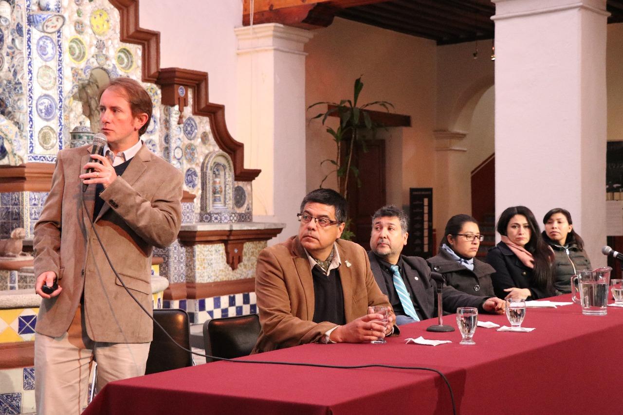 Pablo Etcharren del Ministerio de Medio Ambiente de Chile
