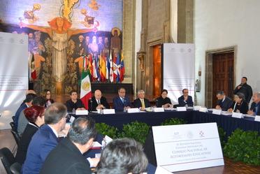 Reunión Nacional Plenaria Ordinaria del Consejo Nacional de Autoridades Educativas