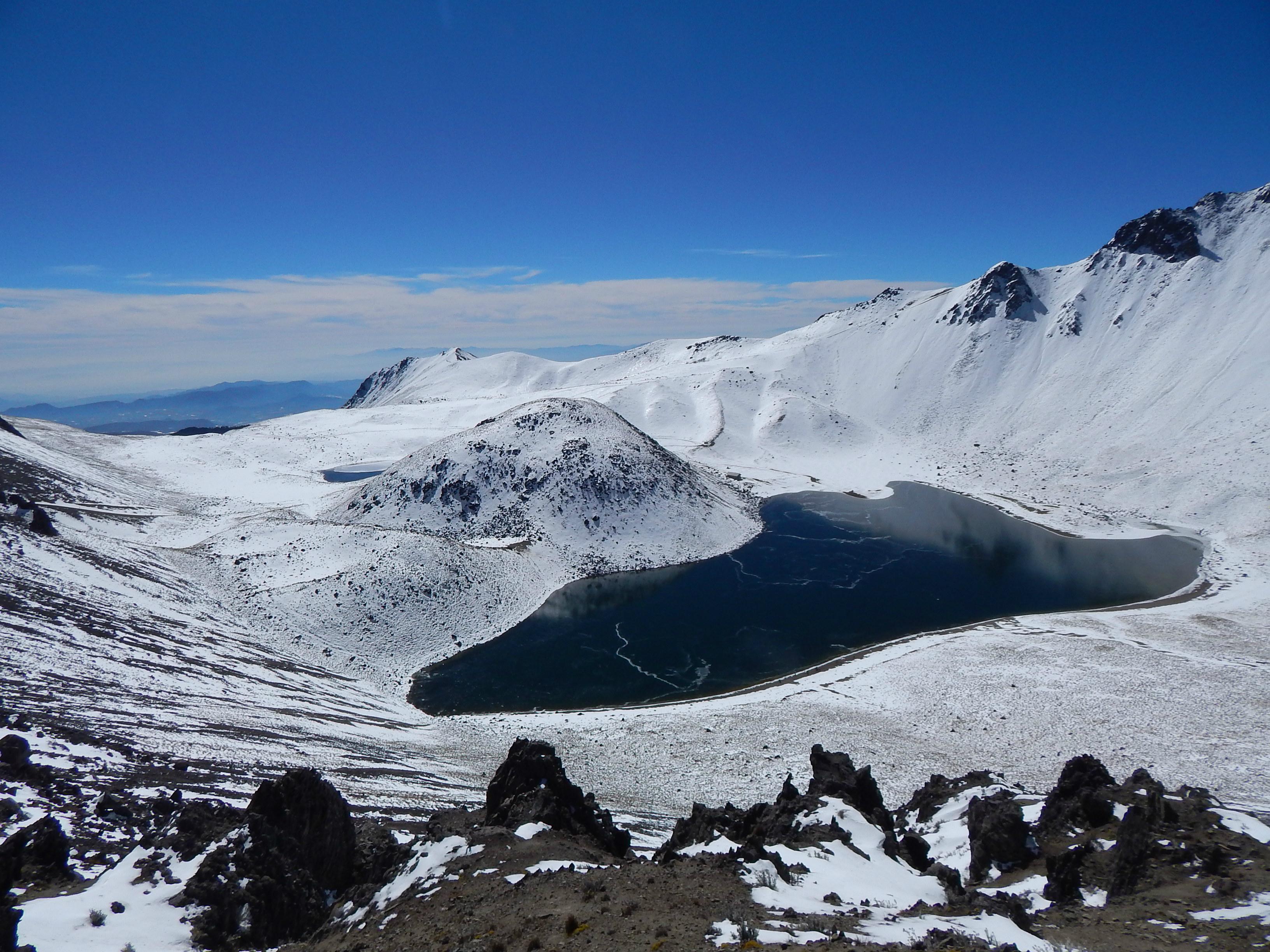 El acceso vehicular se cerrará a partir del Parque de los Venados (en donde podrán estacionarse), hasta el cráter del Nevado
