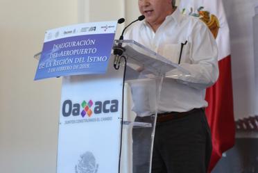 Inauguración del Aeropuerto de la Región del Itsmo