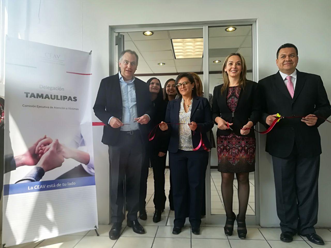 Inauguración de la Delegación de Tamaulipas de la CEAV
