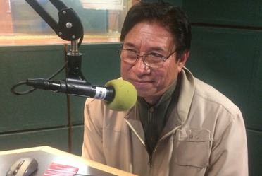 Invitado en los Guardavoces radio, Miguel May May.