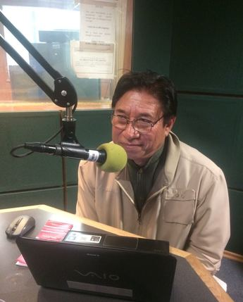 Invitado en el programa los Guardavoces radio, Miguel May May.