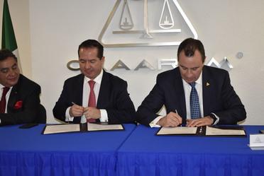 COFEPRIS firma convenio con agentes aduanales para el impulso del comercio exterior