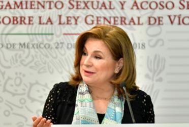 Prioritario, erradicar toda forma de violencia contra la mujer: Arely Gómez