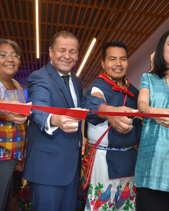 """Ceremonia de Inauguración Expo-Venta Artesanal """"Plasmando Tradiciones, Manos que Transforman"""""""