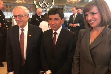 Rubén Hernández Picasso de SENEAM recibe el Premio Nacional de Administración Pública 2017
