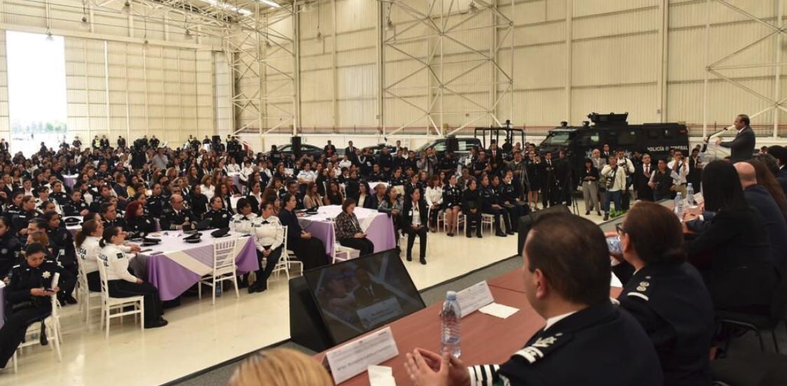 ¡Celebramos las aportaciones y vocación de las mujeres a la Policía Federal de México!