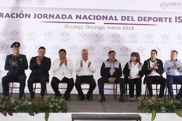 Inauguración Jornada Nacional del Deporte ISSSTE 2018, Durango.