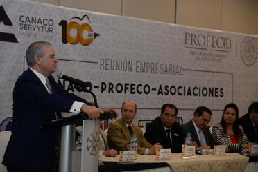 Promueve Procurador Federal del Consumidor era digital en la Cámara de Comercio, Servicios y Turismo del Valle de Toluca