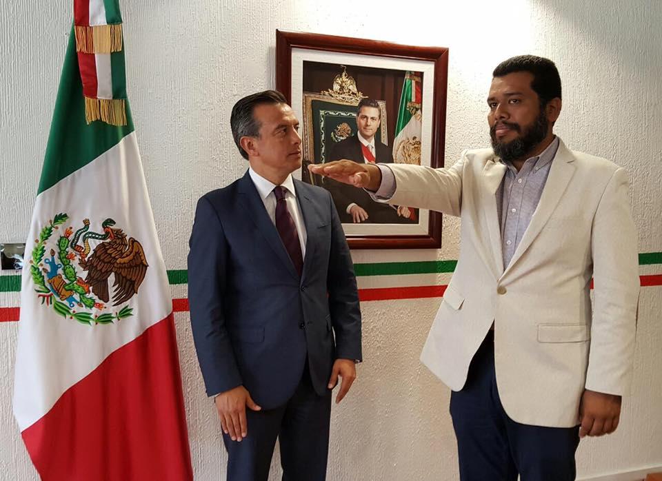 Fue nombrado nuevo encargado de la Delegación del INSUS en Oaxaca.