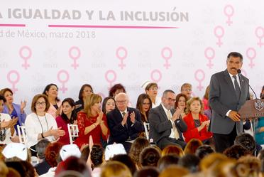 El ISSSTE por la igualdad y la inclusión.