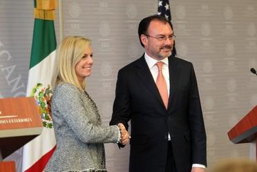 Reunión del Canciller Luis Videgaray y la Secretaria de Seguridad Interna de los Estados Unidos, Kirstjen Nielsen