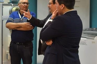 El 5 de abril el Instituto Nacional de Electricidad y Energías Limpias (INEEL) recibió la visita del Ing. Juan Ceavega, Gerente de Energía, y el Ing. Francisco Quintanar, Coordinador de Proyectos de Energía Renovable y Sistemas de Gestión de Energía.
