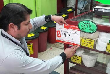 Reporte semanal comparativo de precios de los productos de la canasta básica