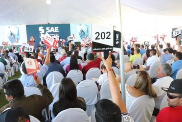 Tercera Subasta a Martillo de bienes muebles del SAE 2018, en La Paz, B.C.S.