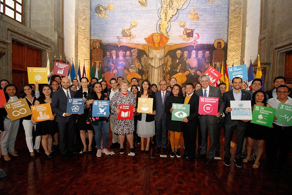 Encuentro de Jóvenes Mexicanos con Erna Solberg, primera ministra de Noruega
